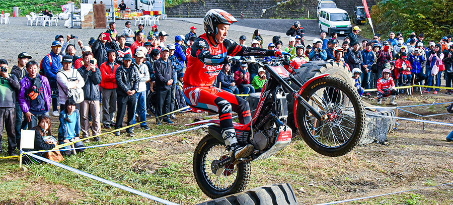 MFJ全日本トライアル選手権シリーズ第3戦東北大会